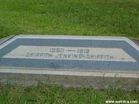 The Grave of Griffith J Griffith in Hollywood Forever Cemetery