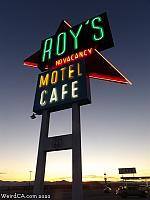 Roy's Motel and Cafe on Route 66