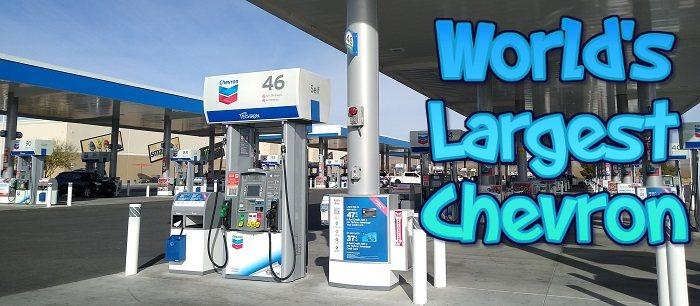 World's Largest Chevron