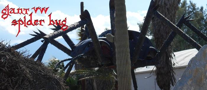 Giant VW Spider Bug