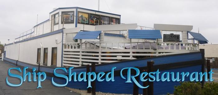 Ship Shaped Sushi Restaurant