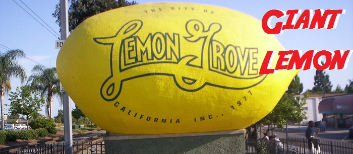 Giant Lemon of Lemon Grove