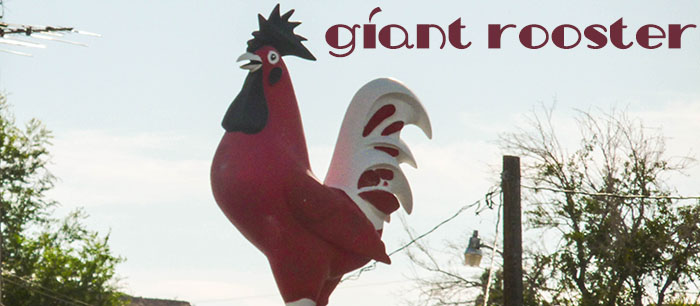 Overton Giant Red Rooster