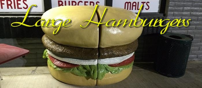 Large Hamburgers