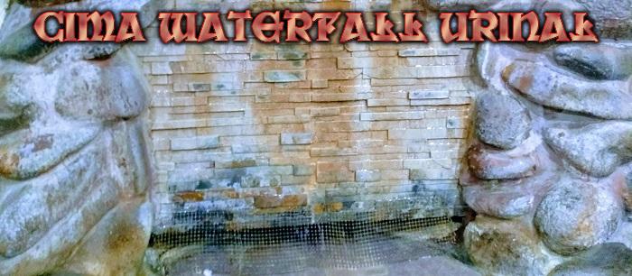 Waterfall Urinal